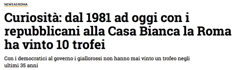 Roma Donald Trump