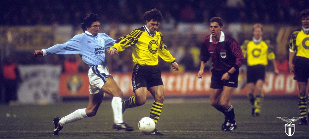 Laziostory | VIDEO, 28 febbraio 1995, Lazio-Borussia Dortmund 1-0: notte  europea per 50.000 - Lazio Story... la Nostra Storia