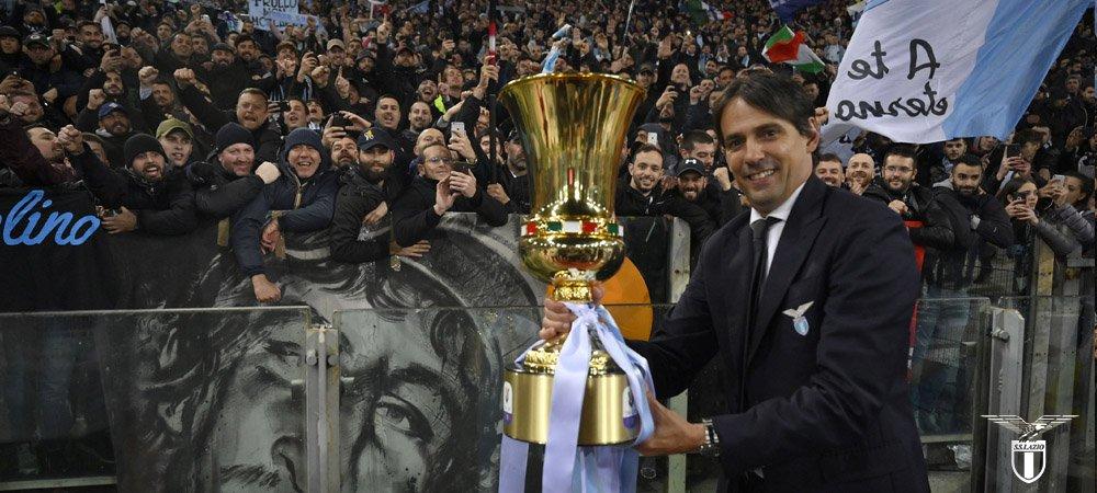 """IL DOPOGARA   Coppa Italia, Atalanta-Lazio 0-2. Inzaghi: """"Abbiamo dei  tifosi meravigliosi, la Coppa Italia é per loro"""" - Ogni maledetta domenica"""
