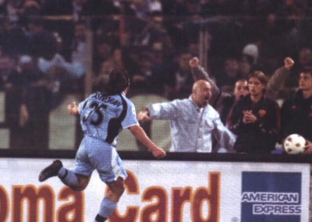 Laziostory | VIDEO, 29 aprile 2001, Roma-Lazio 2-2: urlo Castroman al 95' -  Lazio Story... la Nostra Storia