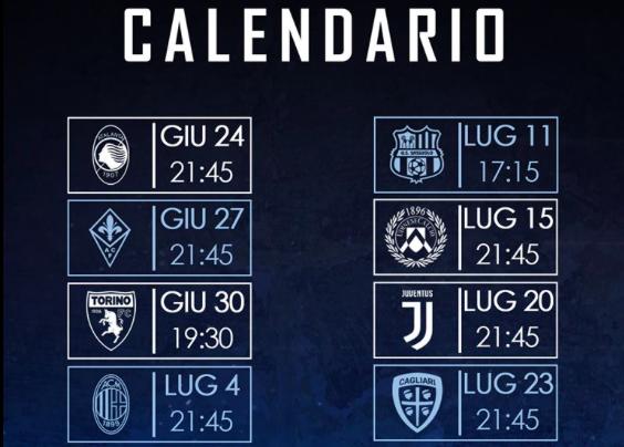 Serie A Il Nuovo Calendario Della Lazio Ecco Il Programma Completo Tutto Sulla Serie A