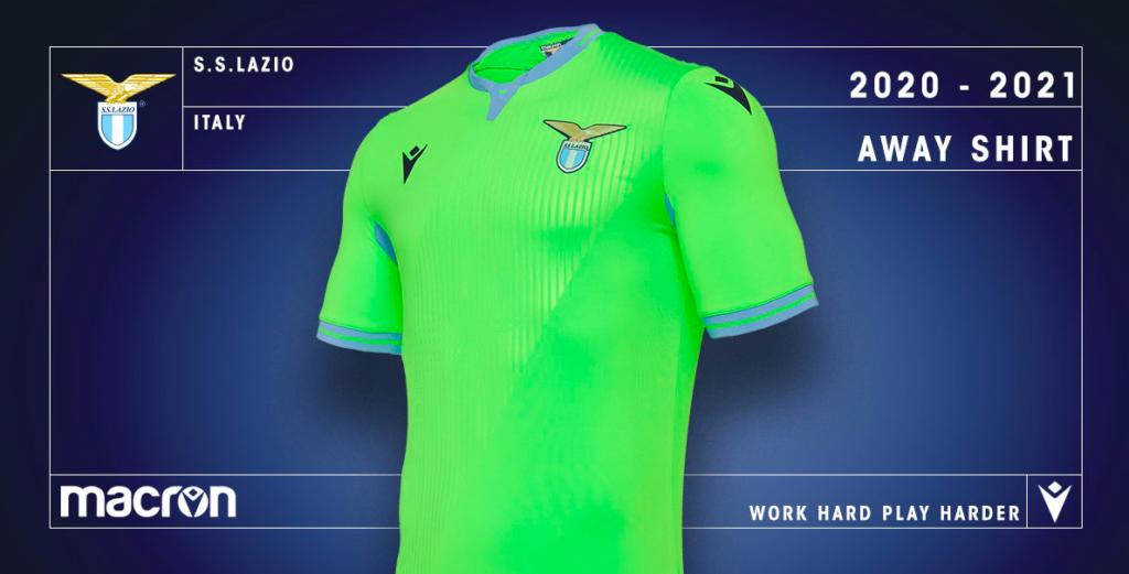 Lazio, ecco la nuova maglia