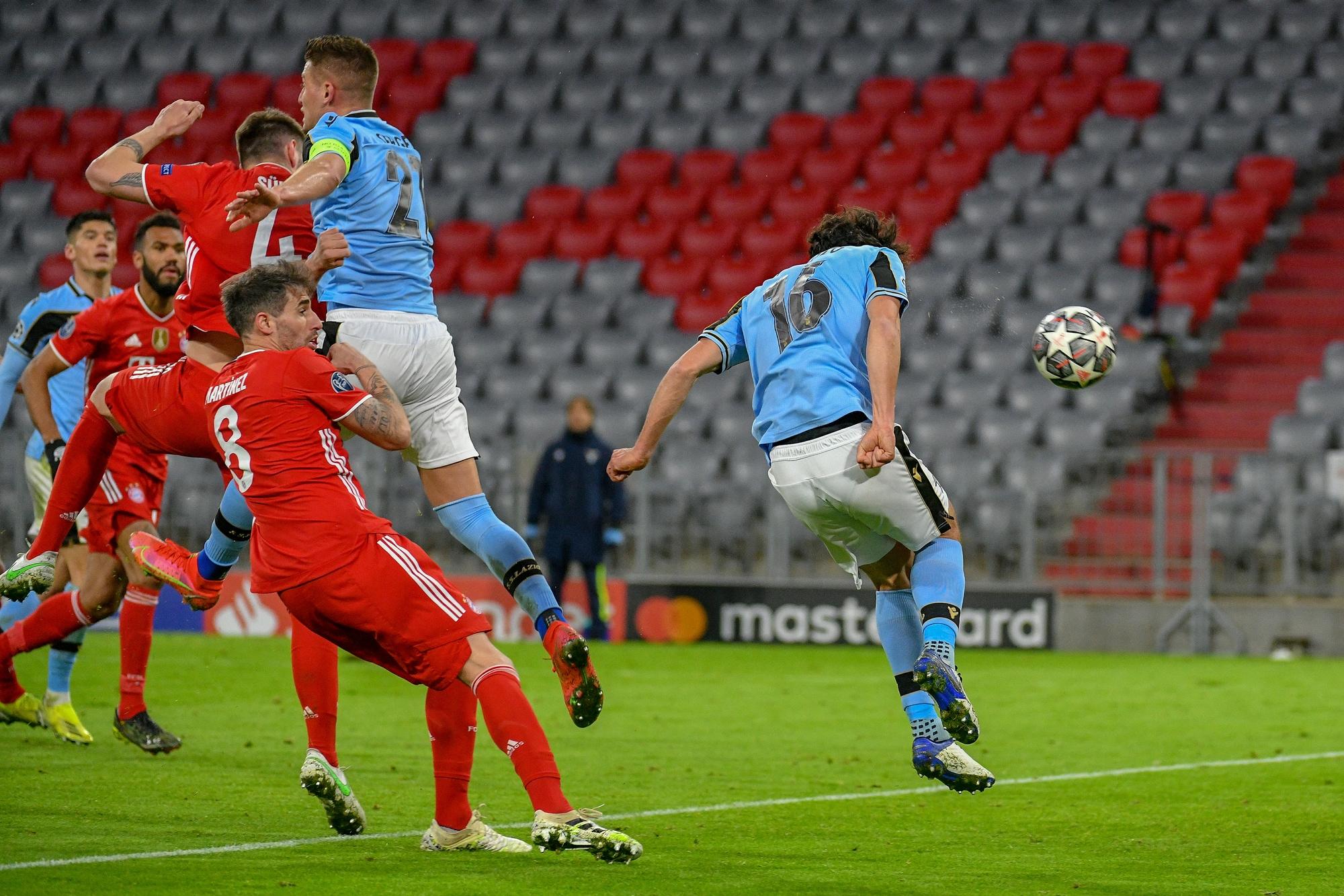 LA CRONACA | Champions League, Bayern-Lazio 2-1: Parolo, premio alla  carriera - Ogni maledetta domenica