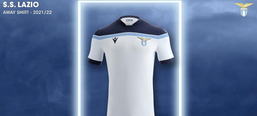 Lazio, ecco la seconda maglia per la stagione 2021/22: domina il ...